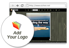 Add Your Own Logo To Your Flip Book Catalog
